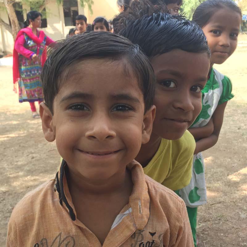 Smiling Gramiksha Kids