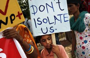 HIV India child