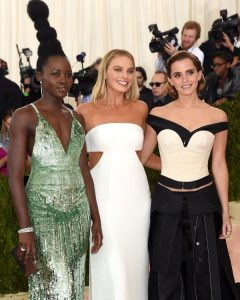 Celebrities sporting sustainable fashion at the 2016 Met Gala